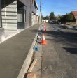 Stipple and highlighted footpath at Albert st Brunswick 1