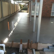 Entertainment Area Concreting, including pergolas, barbecue areas, verandahs - Genform Concrete Melbourne