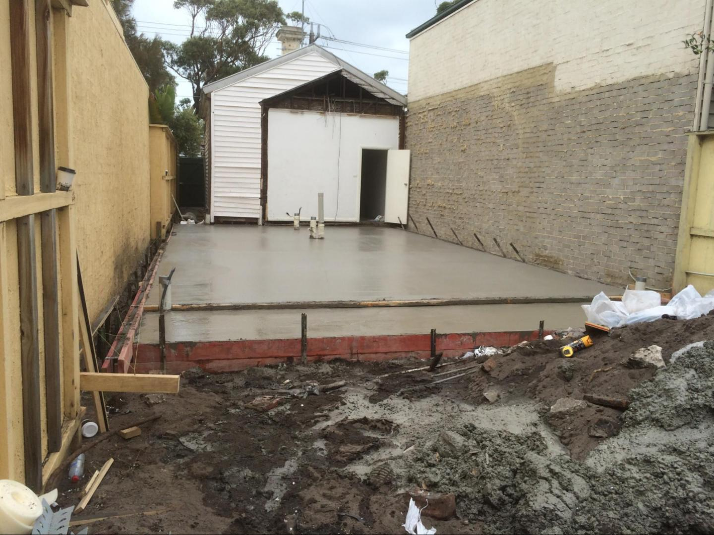 Slab Extension by Genform Concrete Melbourne