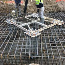 Steel fixing for high specification reinforcements for concreting by Genform Concrete